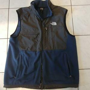 The North Face men's fleece vest XL